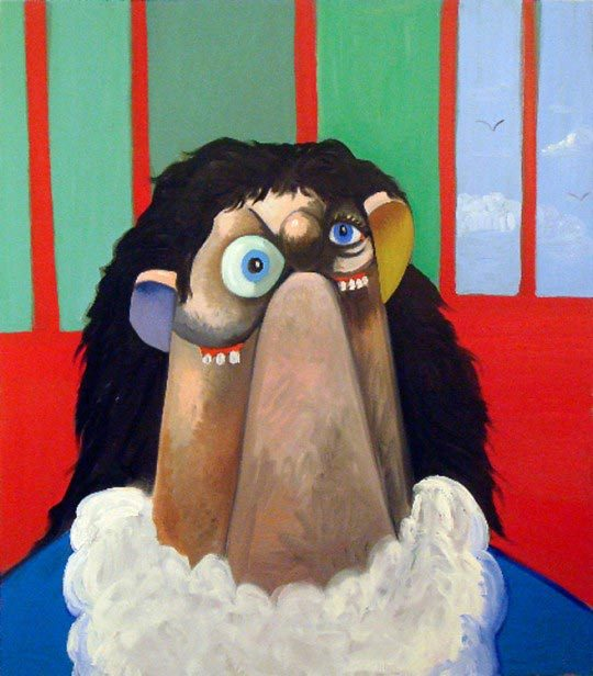 George Condo, Big Sue in jail